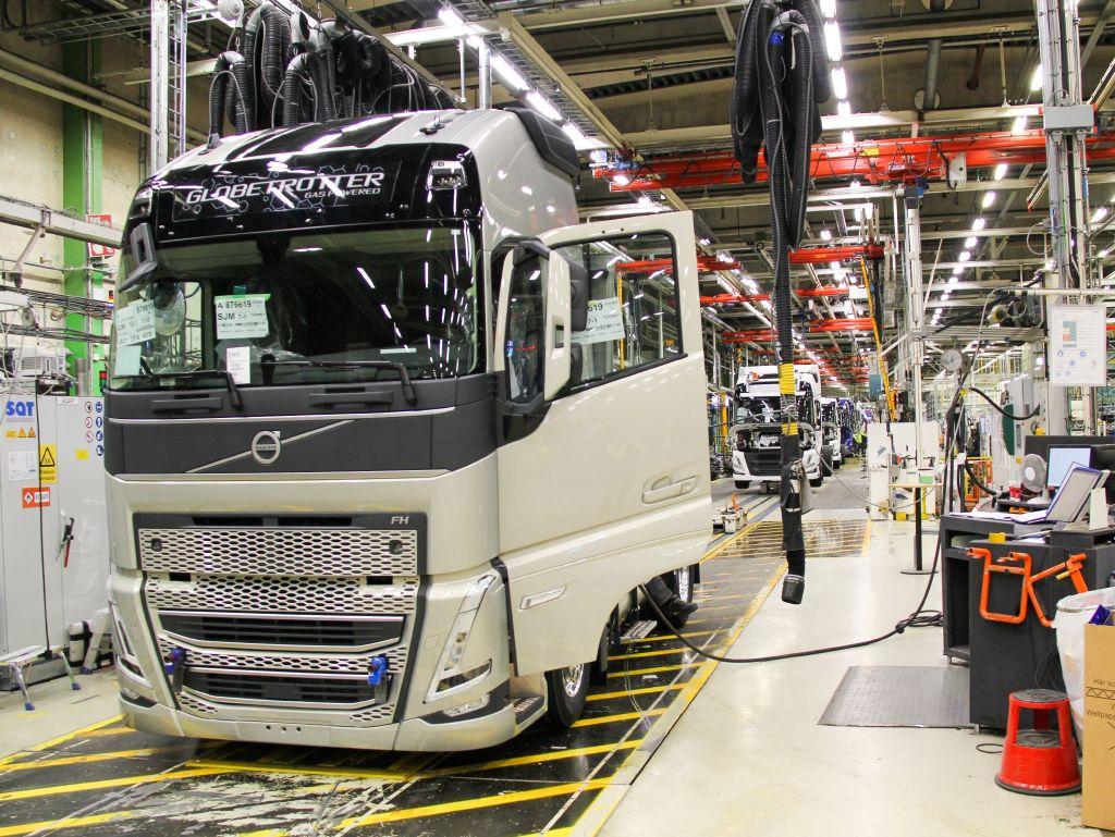 Новые Volvo FH и FM уже на пути к клиентам Т