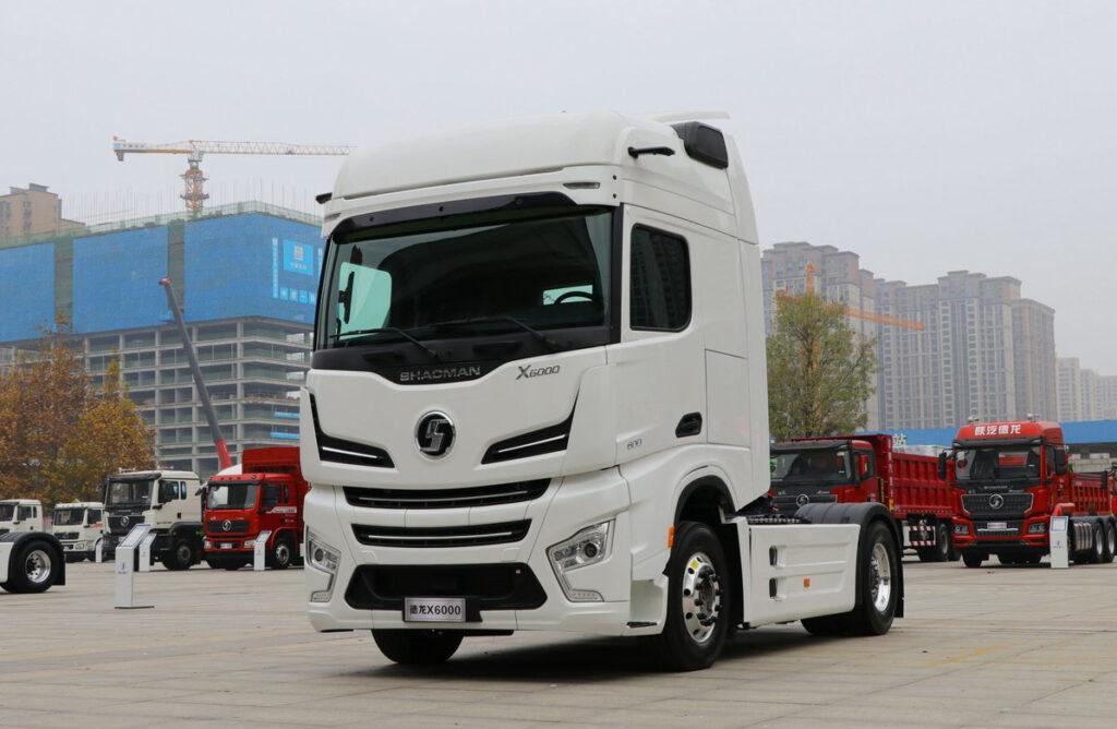 Китайский грузовик класса Hi End 2