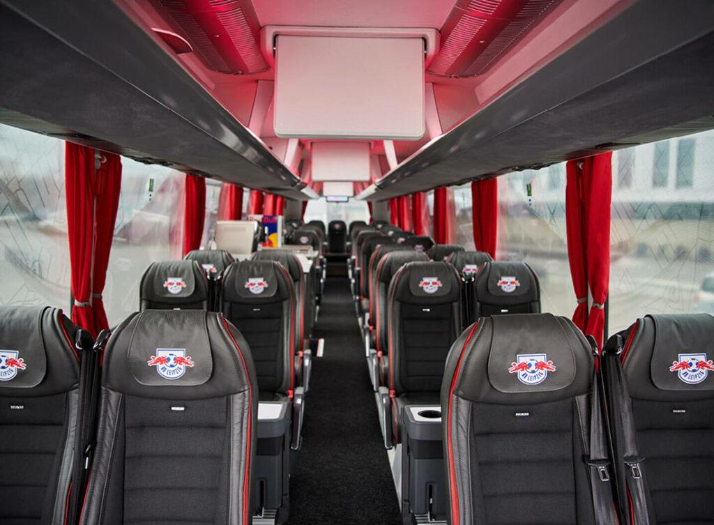 Командный автобус MAN для «Быков» из Лейпцига 2