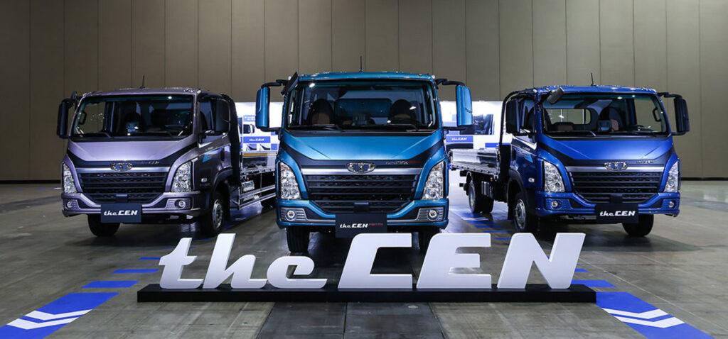 Новый грузовик Tata Daewoo the CEN 2