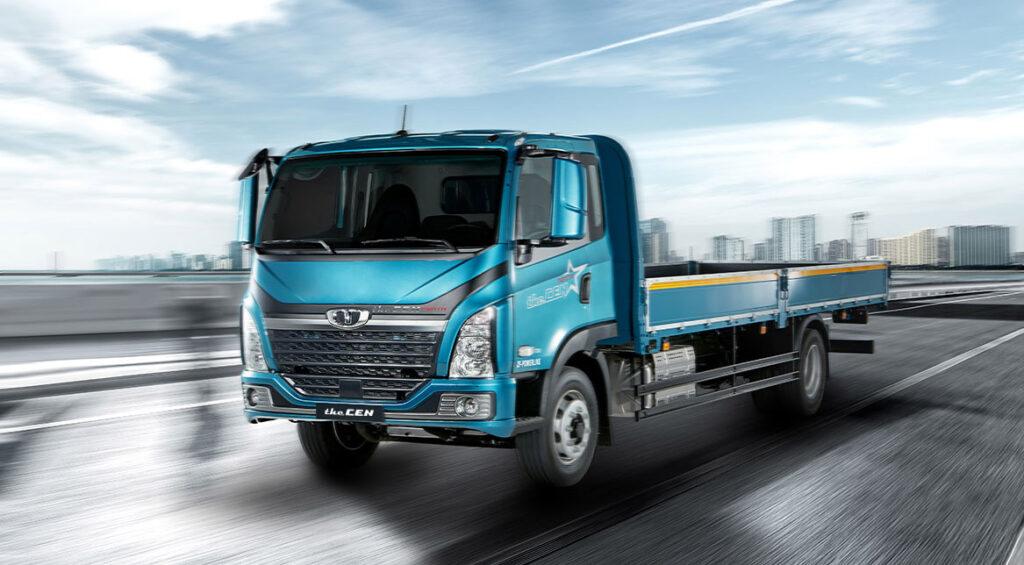 Новый грузовик Tata Daewoo the CEN 5