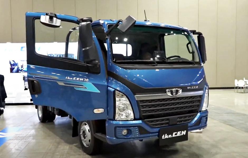 Новый грузовик Tata Daewoo the CEN 3