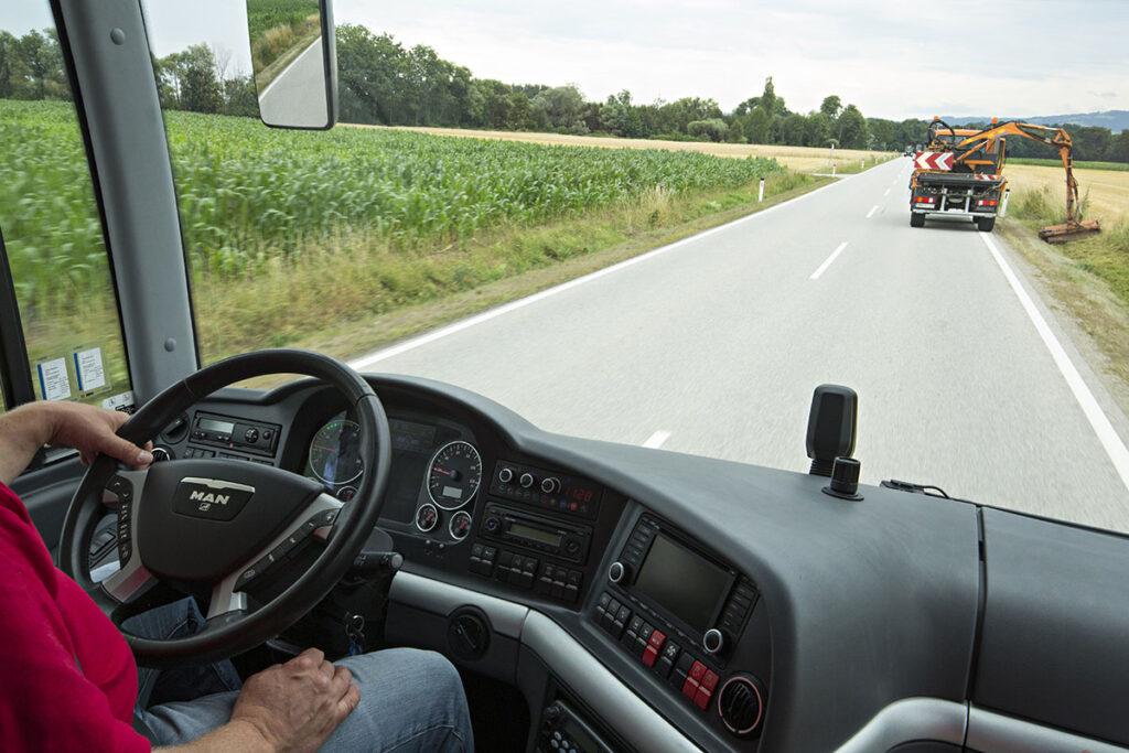 Запрет на обгон для грузовиков 2