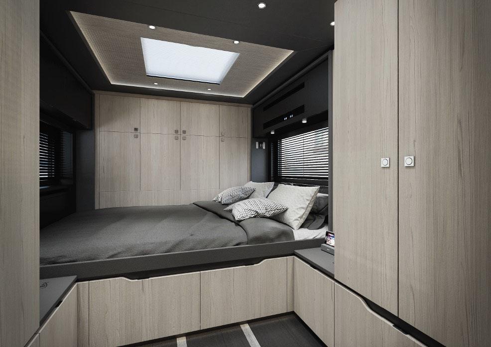 Комфортабельный дом на колесах Scania