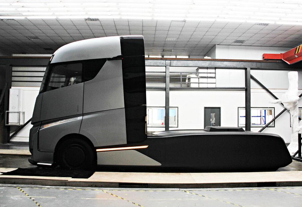 Новый грузовик из Китая 2