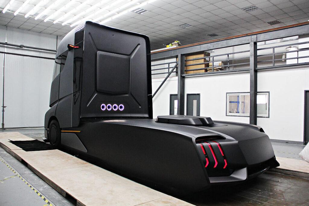 Новый грузовик из Китая 3