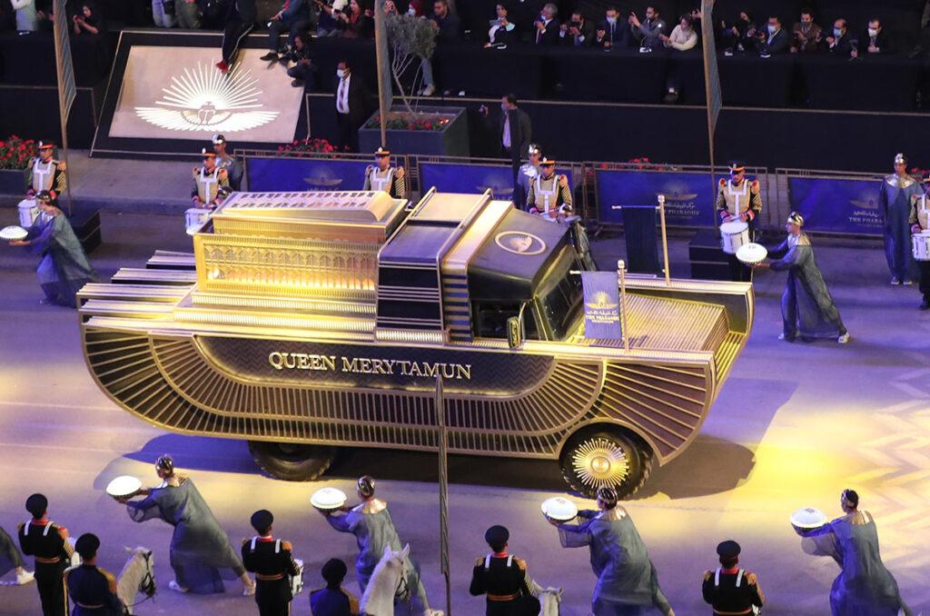 Грузовики «Садко» использовали для перевозки мумий фараонов