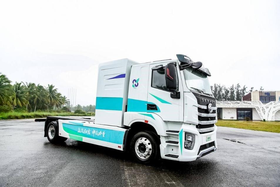 Водородный грузовик SAIC Hongyan 2