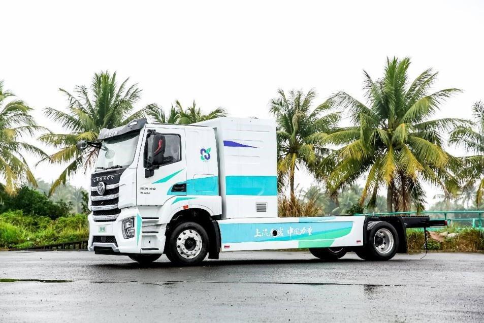 Водородный грузовик SAIC Hongyan 3