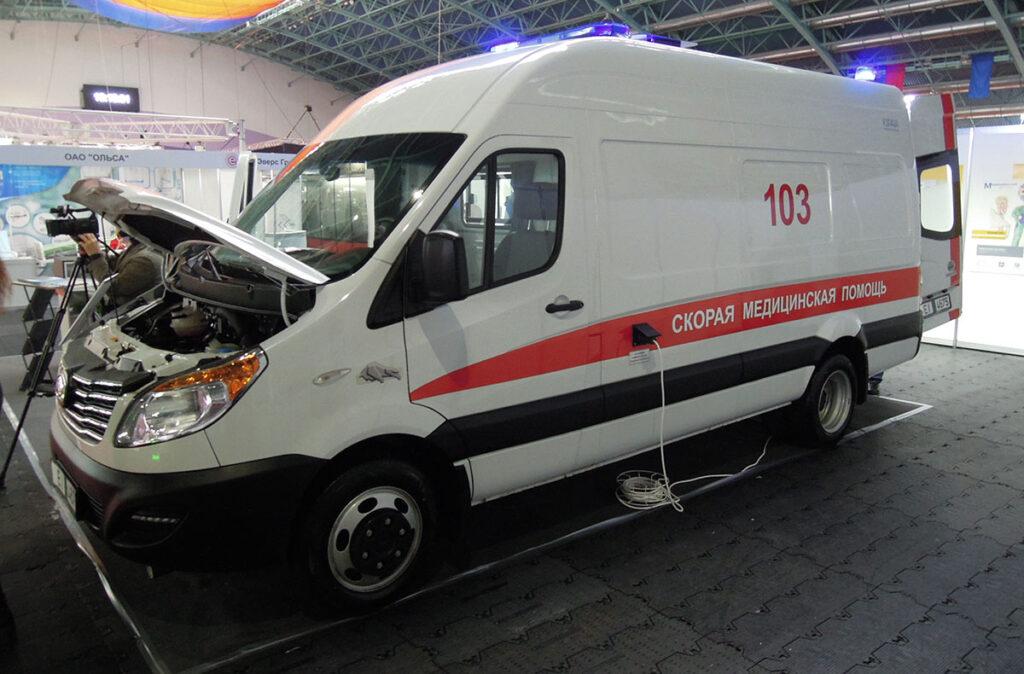 автомобиль скорой медицинской помощи МАЗ-КУПАВА-233150