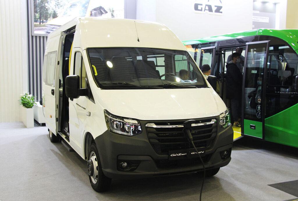 «Группа ГАЗ» представила электробус GAZelle e-NN