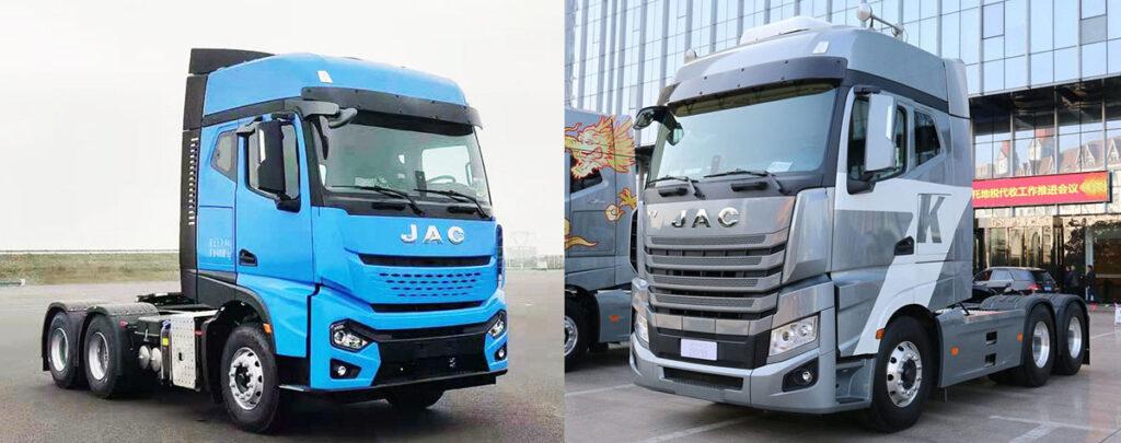 Новый седельный тягач JAC 2