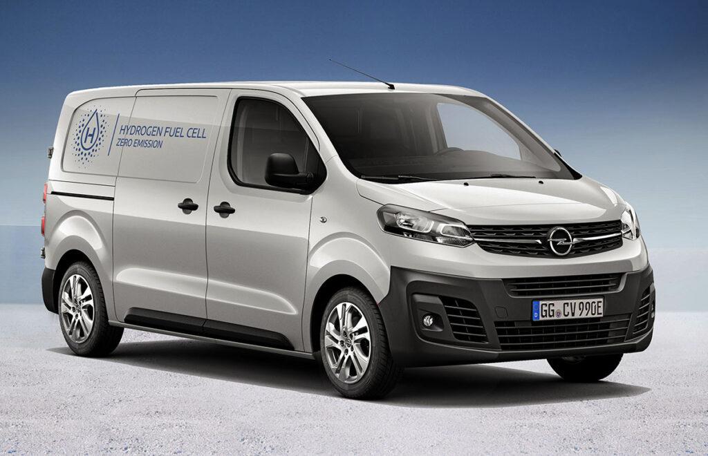 Водородный электрофургон Opel Vivaro-e 2