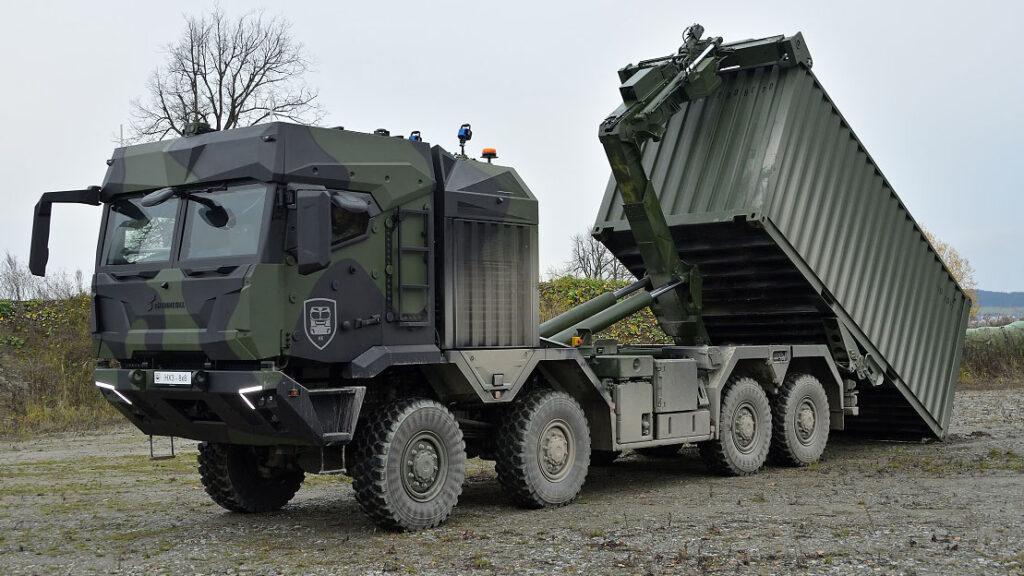 Rheinmetall представила новое поколение HX3