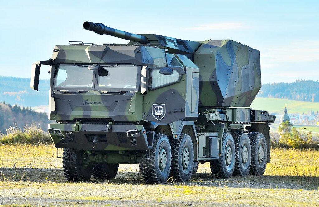 Rheinmetall представила новое поколение HX3 6