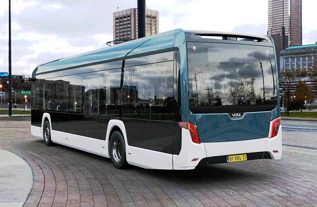 Низкопольный электробус Citea LF-122 _1