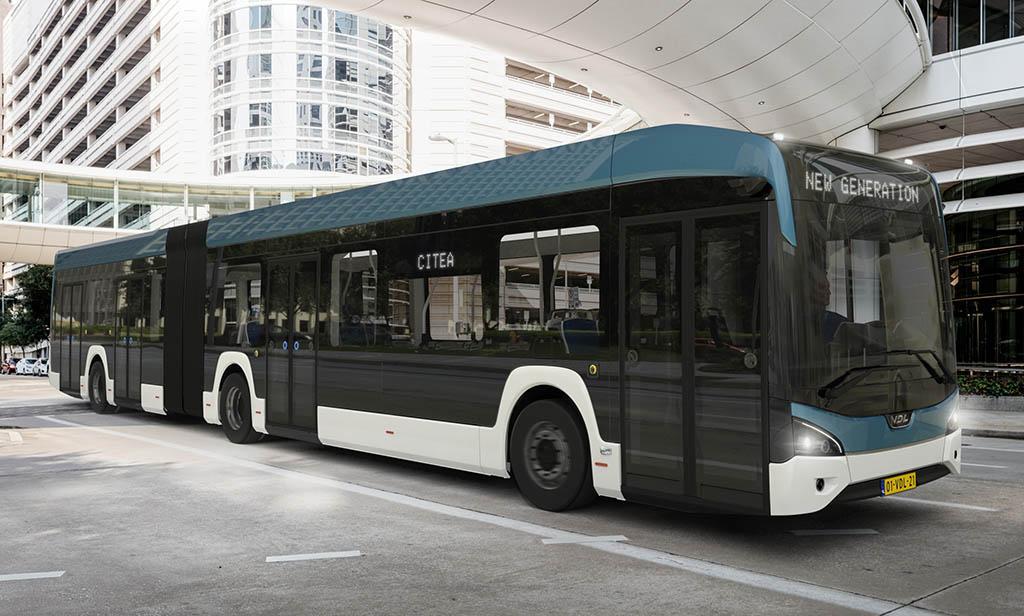 Низкопольный электробус Citea LF181