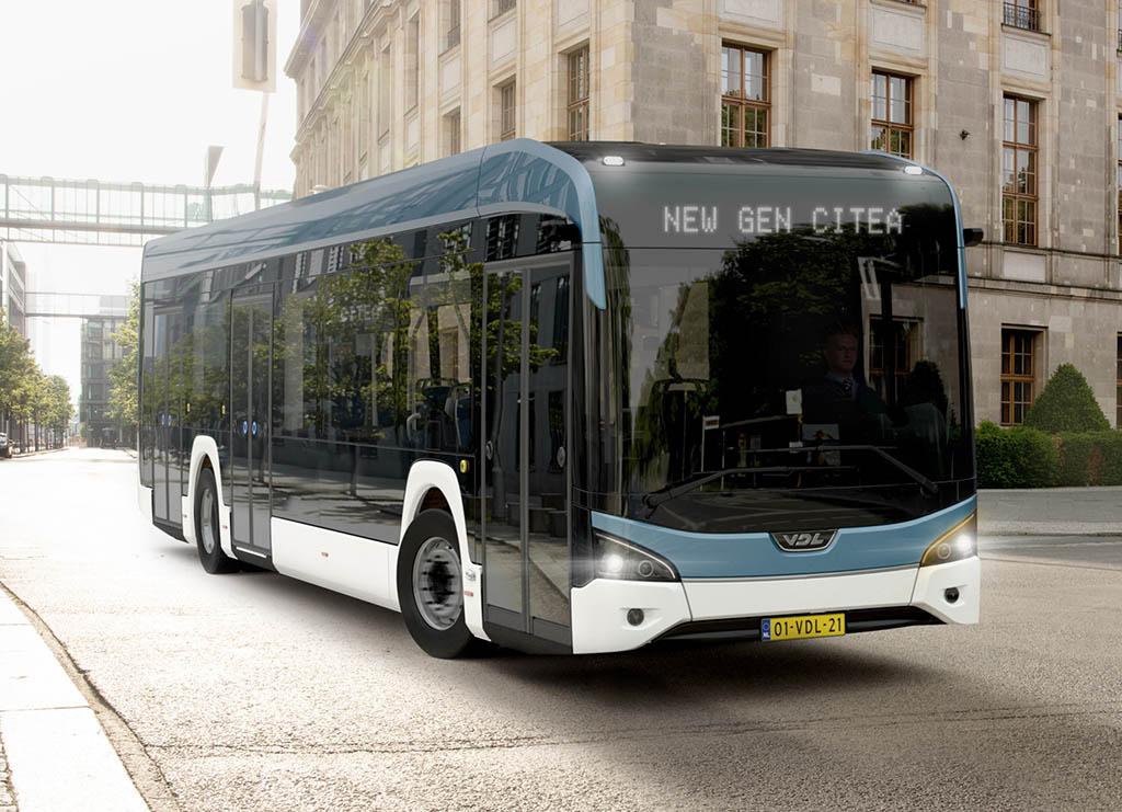 Низкопольный электробус Citea LF-122