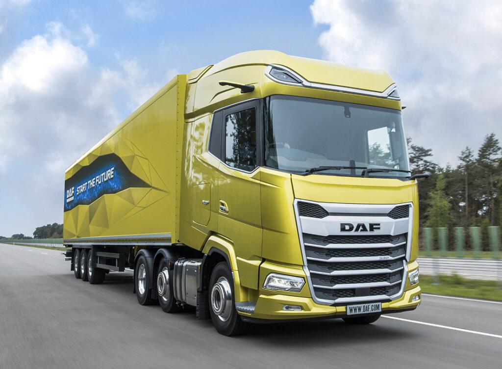 Новая модель DAF XG+