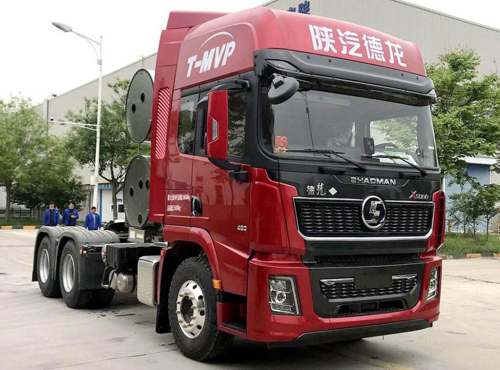 магистральный газовый тягач Shaanxi Delonghi X5000 LNG