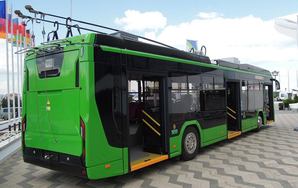 троллейбус БКМ-321 _1