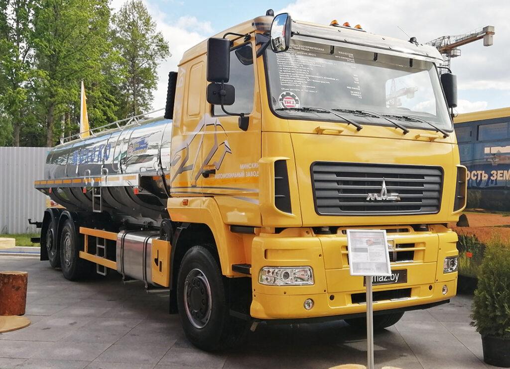автоцистерна АЦИП-14,5 на шасси МАЗ-631028