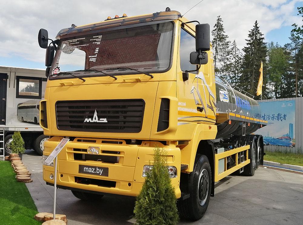 автоцистерна АЦИП-14,5 на шасси МАЗ-631028 _1