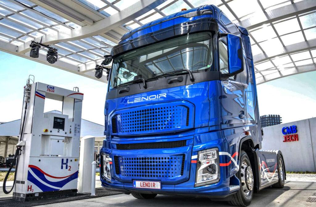 дизель-водородный грузовик Lenoir