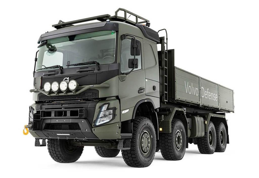 армейский вариант тяжелого грузовика Volvo FMX