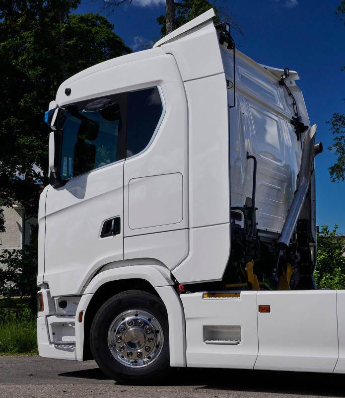 новые варианты спальных кабин Scania