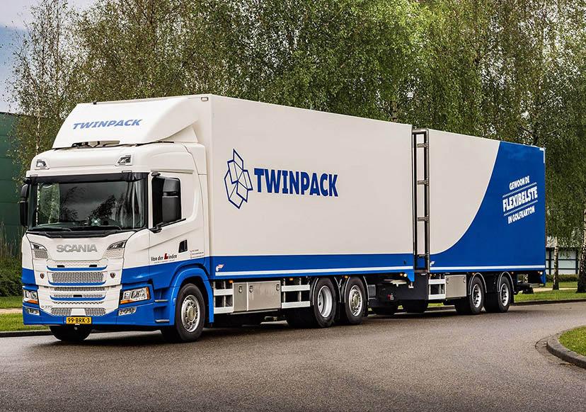 грузовик Scania G370 с солнечными панелями IM Efficiency _1