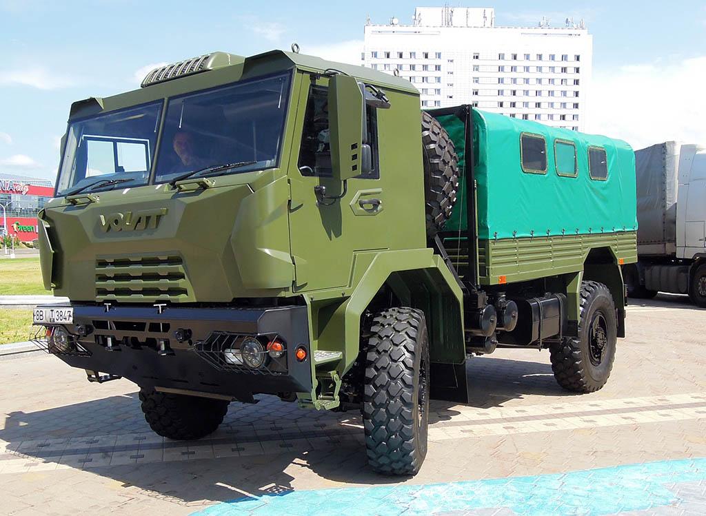 грузовик МЗКТ-550130