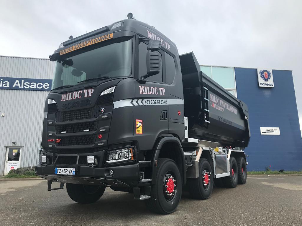 Scania V8 650S 8x8