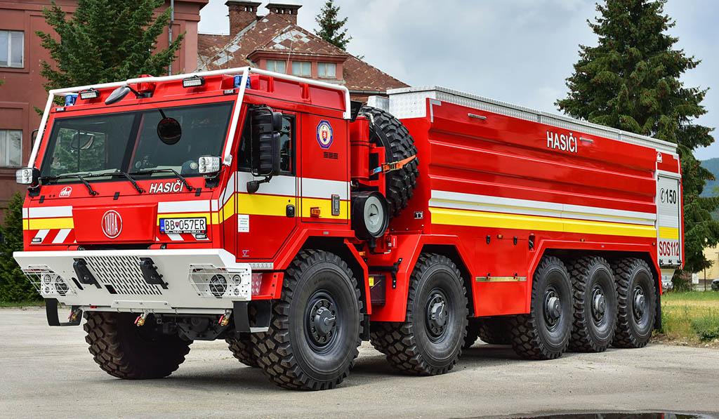 пожарный грузовик TATRA T815-7 10x10