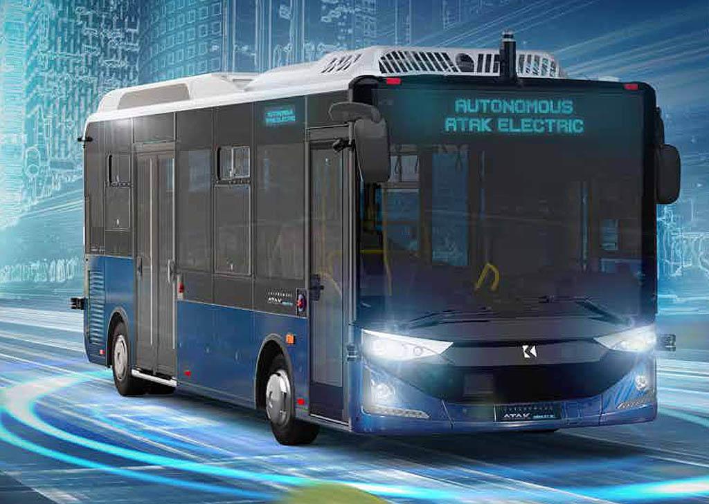 Городской электробус Karsan Atak Electric _1