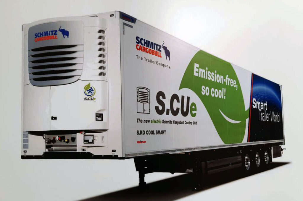 рефрижераторный полуприцеп Schmitz S.CUe Cool Smart