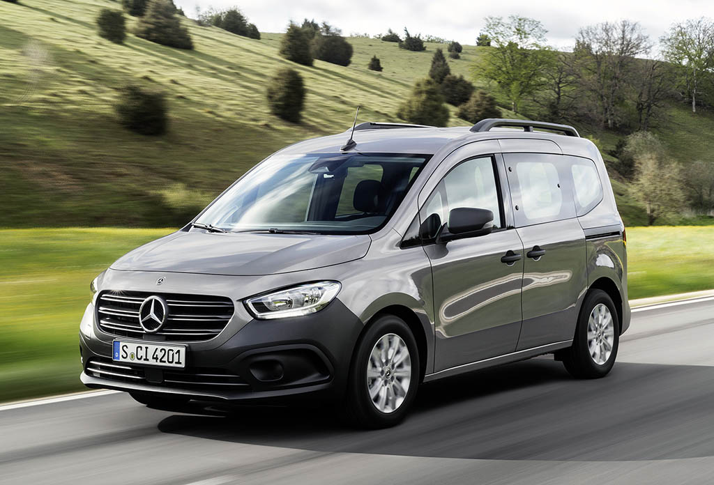 Mercedes-Benz представил новую версию фургона Citan