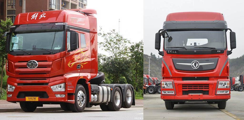 в Китае продали миллион грузовиков