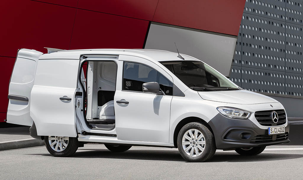 Mercedes-Benz представил новую версию фургона Citan_1