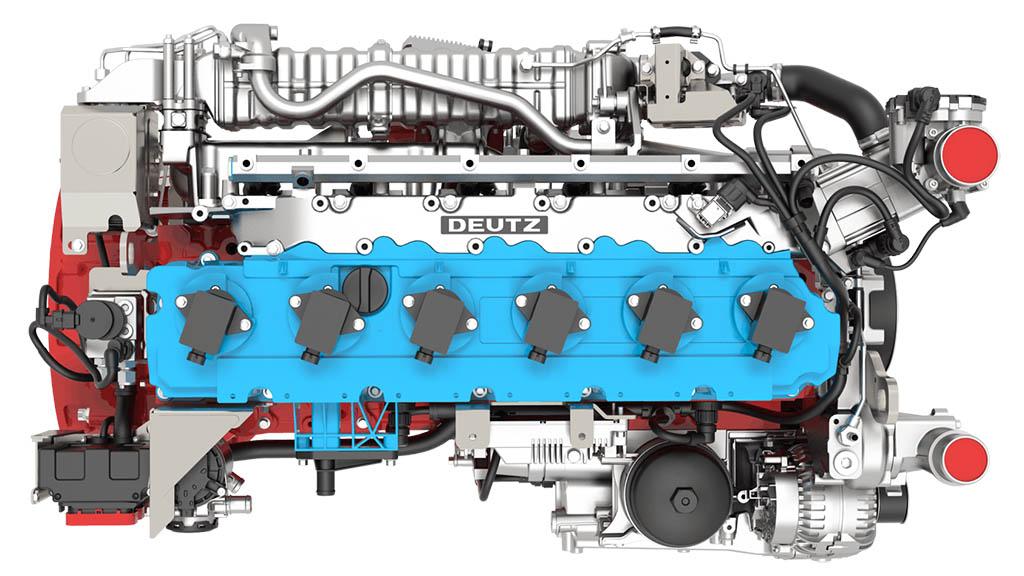 Водородный двигатель внутреннего сгорания Deutz TCG 7.8 H2