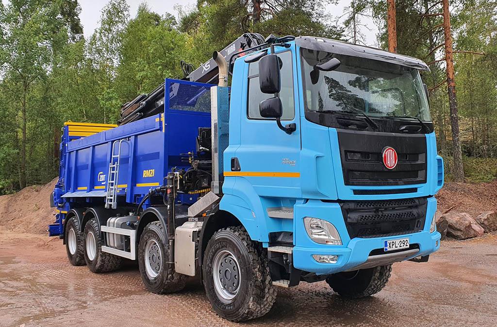 Первая Tatra Phoenix зарегистрированная в Финляндии