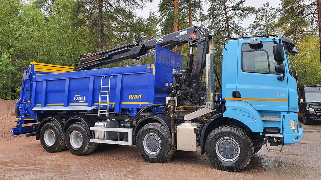 Первая Tatra Phoenix зарегистрированная в Финляндии_1