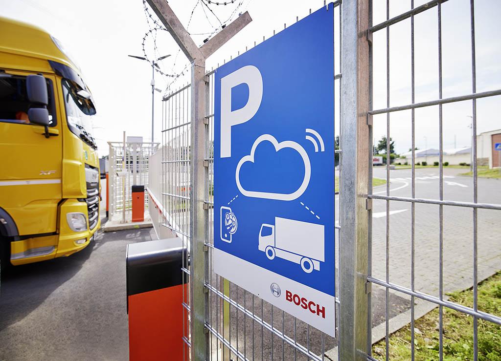 автоматизированная парковка для грузовиков