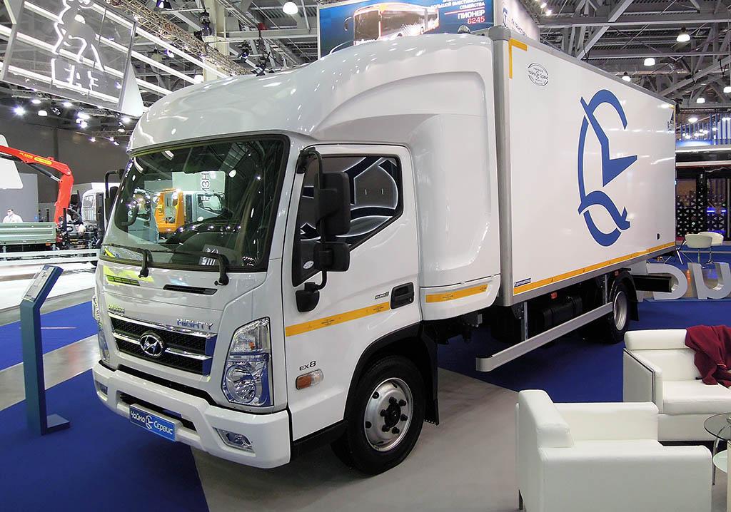 Hyundai Mighty со спальным отсеком от Чайка-Сервис