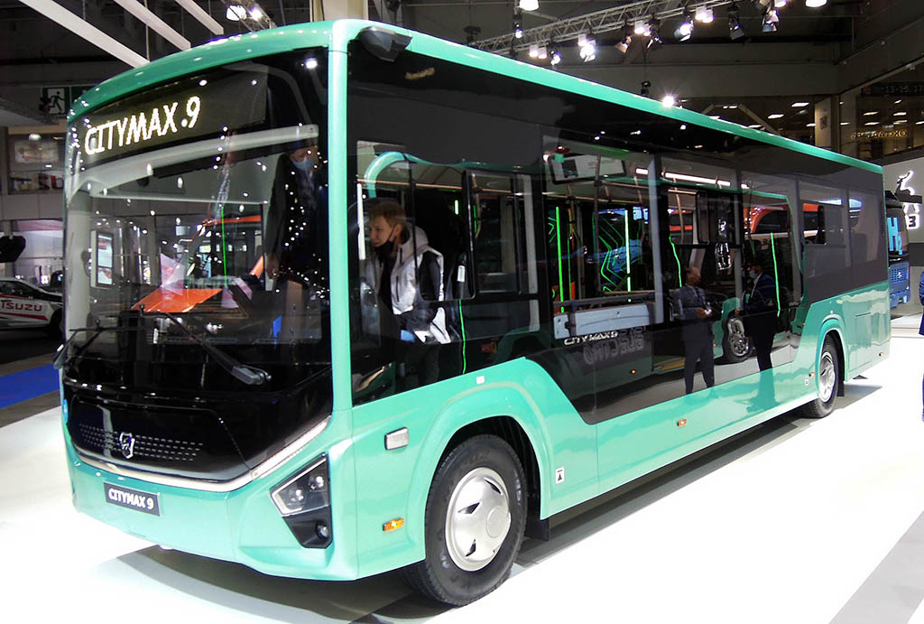 городской автобус нового поколения CITYMAX 9
