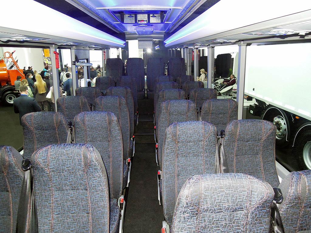 Салон автобуса СИМАЗ - 2258