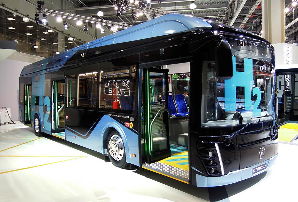 водородный электробус CityMAX Hydrogen