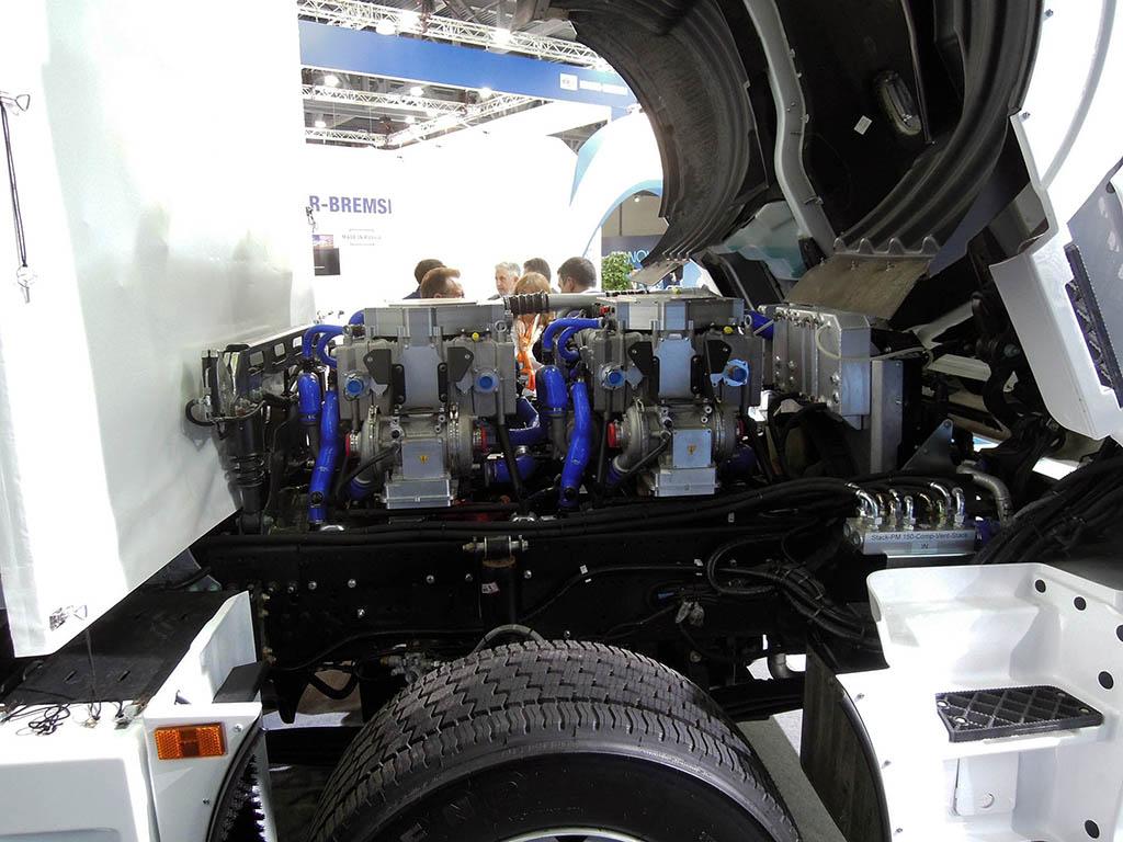 блок водородных топливных элементов КАМАЗ-65208