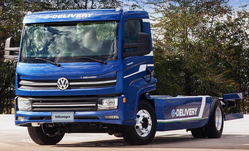 Элетрогрузовики Volkswagen первыми получат новейшие АКБ