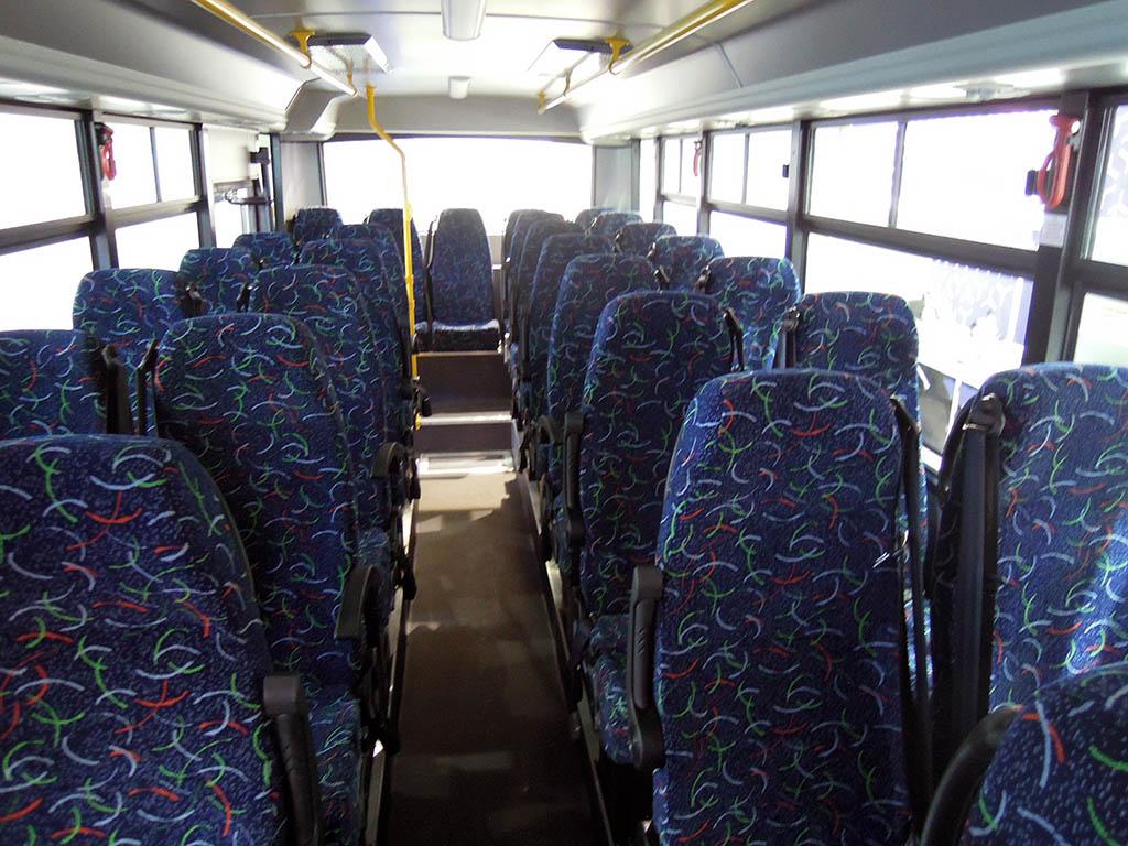 салон автобуса SAZ HD50